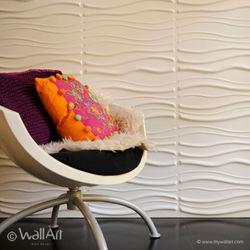 WallArt 3D Wall Panels - Sands ( 1 Box of 32.29 Sft)