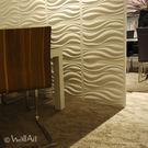 WallArt 3D Wall Panels - Waves ( 1 Box of 32.29 Sft)