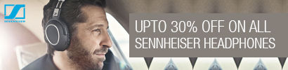 Upto 30% off on Sennheiser Headphones