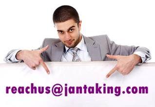 write to customercare at jantaking.com