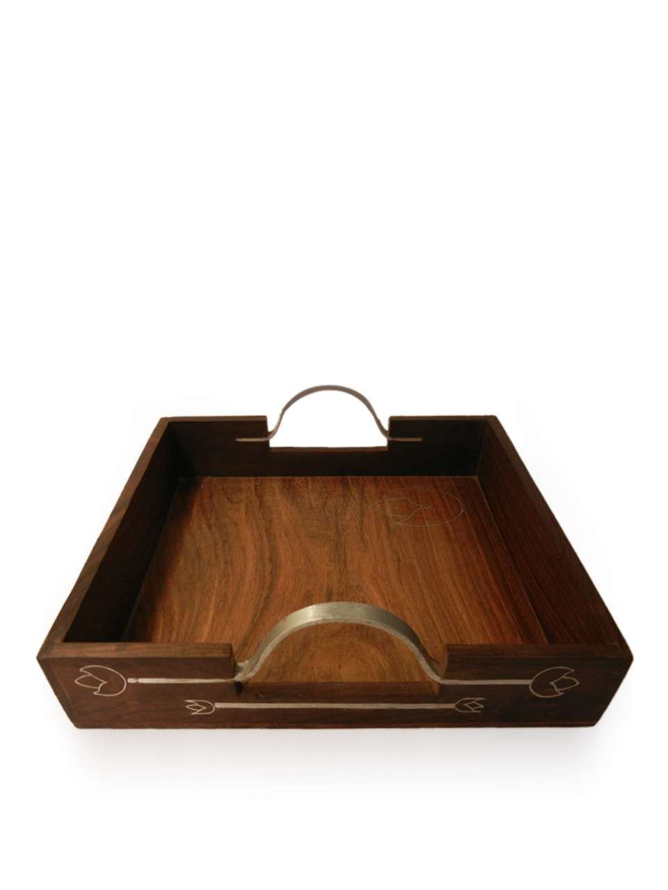 Customisable Wooden Snacks Serving Tray - cpwdbokw00016