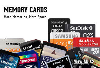 Memory Cards - More Memories, More Space