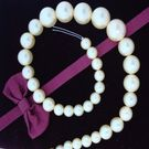 SHELL PEARL BEADS, p/string