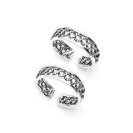 Classy Cutwork Toe Ring-TR86