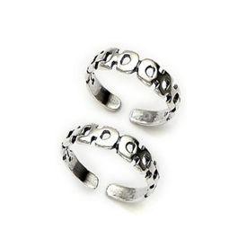 Lovely Sterling Silver Toe Ring-TR237
