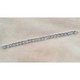 Dazzling High Finish Silver Bracelet-BR007