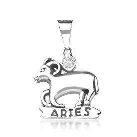 Aries Silver Pendant-PD007
