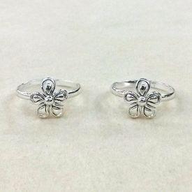Lovely Flower Shape Toe Ring-TR293