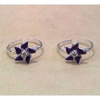 Exquisite Stone Studded Toe Ring-TR290