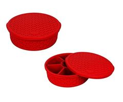 Jaypee Plus Spice Souk - Masala Container - Red pack of -2