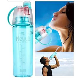 New B Portable For Outdoor Cycling Camping Hiking Spray With Water Bottle