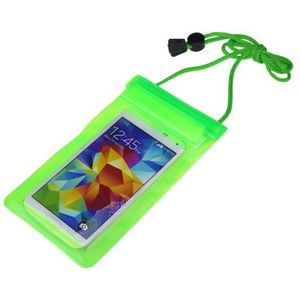 Mobile Waterproof Pouch For All Mobiles (Green)