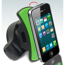 GRIPGO Universal 360 Rotation Sticky Mount Car Holder for Cell Phone/iPad/GPS