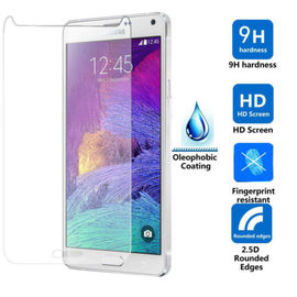TEMPERED GLASS SCREEN GUARD SCRATCH PROTECTOR FOR SAMSUNG GALAXY NOTE 4