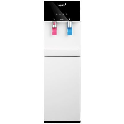 Livpure Knight RO Hot & Cold Water Dispenser,  white