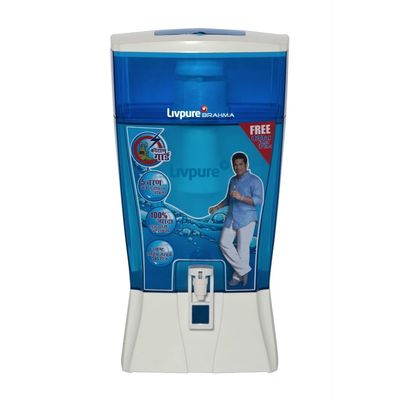Livpure Brahma Gravity Water Purifier,  blue