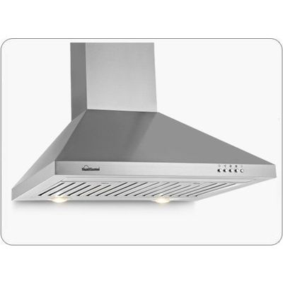 Sunflame Venza 60 SS 1100 m3/h Chimney,  silver