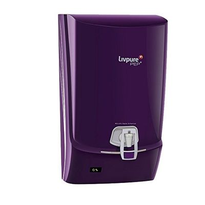Livpure Pep Plus RO Water Purifier,  purple