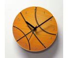 Hoops MDF Wall Clock by Engrave