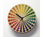 Wheelie MDF Wall Clock By Engrave