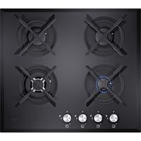 Carysil 60cm Tekno G4 Designer Glass Built-In Hob# Tekno, without safety device