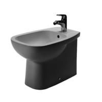 Duravit W360mm X D560mm X H520mm D-Code Bidet Floor Standing Back To Wall With Overflow# 224110