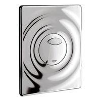 Grohe Surf Wall Plate For Dual Flush# 38861000, white alpine