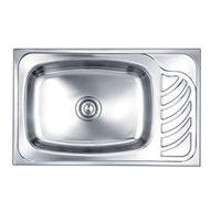 Nirali D'signo Eureka Stainless Steel Sink# XJ251B2C859, 34 x20   jumbo , glossy