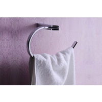 Viking Towel Ring; Rectangular Arm# 1735