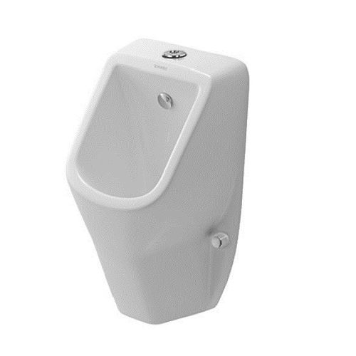 Duravit L290mm X W305mm X H370mm D-Code Urinal Visible Inlet, Rimless Without Fly Model# 082830