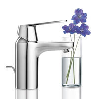 Grohe Eurosmart Cosmopolitan Single Lever Basin Mixer With Pop-up Waste System# 32825000