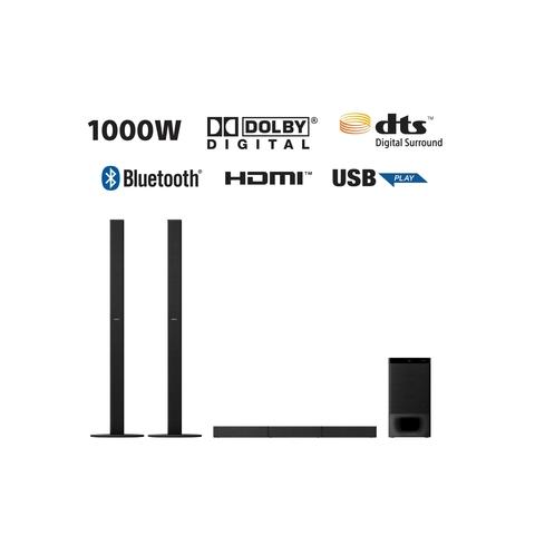 Sony HT-S700RF 1000W High Power Real 5.1ch Dolby Digital Soundbar with Tallboy Speaker