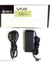 Sony Vaio Genuine Original Laptop Battery Charger 19.5V 3.9A 75W Vgp-Ac19V20