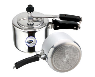 Sakhi Induction Compatible Inner Lid Pressure Cooker, ISPC 5, 5