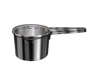 Acilis sauce Pan with strainer lid, Premium Stainless Steel with Induction, ASSP 16, 160