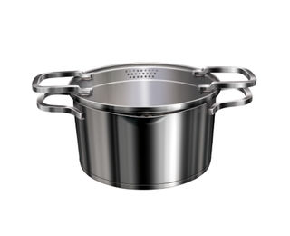 Acilis casserole with lid, Premium Stainless Steel with Induction, ASCR 20, 200
