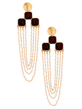 The Jewelbox Long Statement Dangler Earring For Wo...