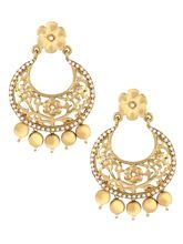 The Jewelbox Antique Gold Plated Floral Large Chaa...