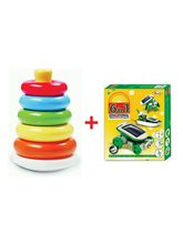 YD Combo Of Stacking Ring And 6 In 1 Educational G...