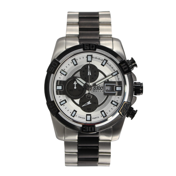 CLASS ONE MEN - SILVER WHITE WATCH