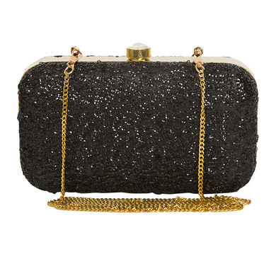 Peperone_ Juliet_ BLACK_ CLUTCH_ 3041