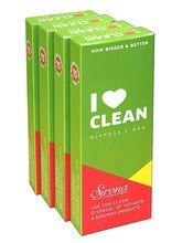 Sirona Baby Diapers & Sanitary Disposal Bag (60 Pcs - 4 Packs)