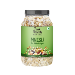 True Elements No Added Sugar Muesli, 1000 grams