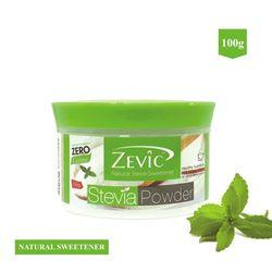 Stevia Zero Calorie Powder 100 gm - Zevic