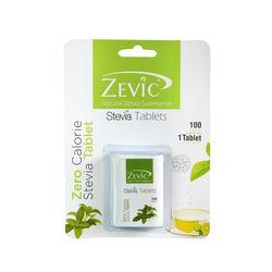 Stevia White Tablets - 100 pack - Zevic