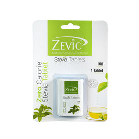 Stevia White Tablets - 100 pack - Zevic
