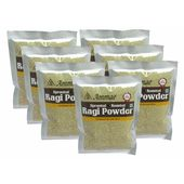 Ammae Sprouted Ragi Powder (Set of 7 Packets of 100gms each)