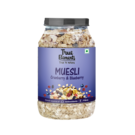 True Elements Cranberry and Blueberry Muesli, 1000 grams