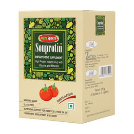 Souprotin High Protein Tomato Soup - 6 sachet pack