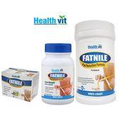 Healthvit Fatnile Fat Burner Combo ( Capsule+ Powder+ Tea)